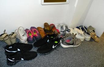 Le dressing à chaussures