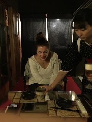 Verre de vin japonais à la prune sucrée